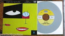 """SHONEN KNIFE – Neon Zebra b/w Bear Up Bison (Live) 7"""" Sub Pop – SP108 grey wax"""