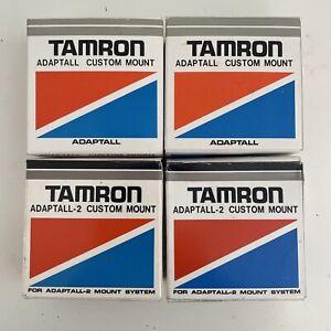 Tamron Adaptall Custom Mount X 4 For Pentax, Canon Etc