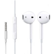 For Apple Earphones Headphone For iPhone 4 5 6 iPod iPad Air With Mic 3.5mm jack