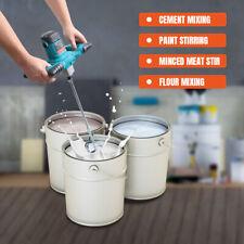 2100w Electric Handheld Cement Mixer Portable Mortar Concrete Mixer 110v