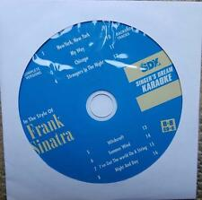 FRANK SINATRA KARAOKE OLDIES CDGM CD+G MULTIPLEX 8+8 - SDK9017 CD MUSIC