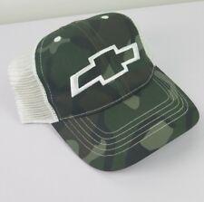 New Chevy GMC Camo Snapback Adjustable Mesh Trucker Hat  Baseball Cap
