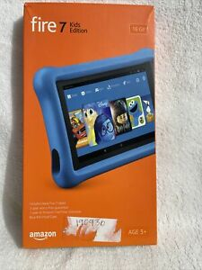 """Amazon Fire Kids Edition 7"""" Tablet 16GB Fire OS 5 - Blue (53-005771)"""
