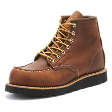 Red Wing Shoes Classic Moc Toe Copper Mens Boots Casual Winter Shoes