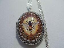 Bee Locket Steampunk Honey