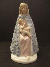 Fine Porcelain Madonna & Child Virgin Mary & Baby Jesus Figurine Statue ROMAN