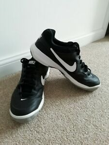 Nike Court Lite Tennis Shoes Trainers Black Size 10