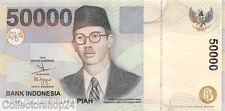 Indonesia 50000 Rupiah 1999/2003 Unc Pn 139e