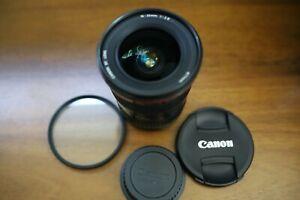 Canon EF 16-35mm f/2.8 L USM Lens 1st Version with Hoya UV Filter