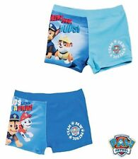 Paw Patrol New Boys Kids Character Swimming Boxers Swim Trunks Age 2 3 4 5 6 7 8