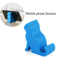 Universal Acrylic Mount Stand Phone Holder Finger Ring Grip Cellphone Tablet