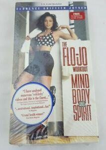 Flo-Jo Workout, The - Mind, Body and Spirit (VHS, 1995) Florence Griffith Joyner
