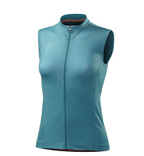 Specialized Roubaix Comp Sleeveless Cycling Jersey Turquoise Women's M NEW