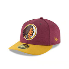 Washington Redskins NFL Low Crown Retro New Era 59FIFTY Fitted Hat - Maroon/Gold