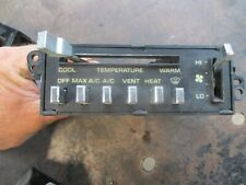 81-93 DODGE RAMCHARGER W100 D150 HEATER AIR CONDITIONING CONTROLER HEAD UNIT OEM