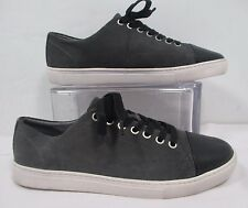 The Rail Mateo Grey Suede Front Lace Sneakers Sz 8-8.5 Eu 41