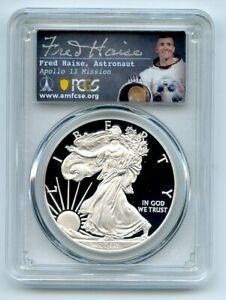2012 W $1 Proof American Silver Eagle PCGS PR70DCAM Fred Haise