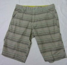 American Rag Cie Men's Shorts 32 Gray Striped Stretch Surf & City