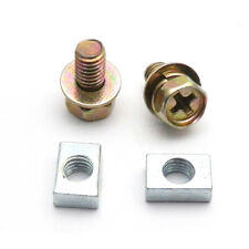 Scooter ATV DIRT BIKE Battery Terminal Nut and Bolt Kit M5x10mm Universal zh
