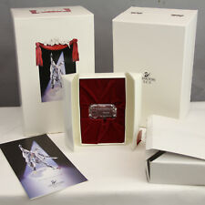 Swarovski Crystal 1999 Pierrot Scs Annual Edition Name Plaque Sign Box 4 Figure
