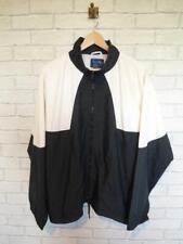 Vintage Shell Suit Jacket Top Festival Tracksuit Windbreaker 80s/90s XL #D5810