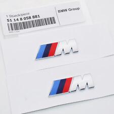 2x OEM M Series Fender Emblem Badge Car Decoration Refit ABS Mini 881 Sport