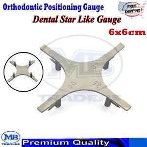 Dental Orthodontic Bracket Positioning Boone Star Like Gauge Measuring Lab Tools