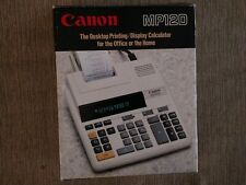 Canon Mp12D Desktop Printing Calculator For Home Or Office