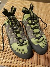 La Sportiva Tarantulace Rock Climbing Shoes Women's size 7.5+ Mens 6.5+ Eur 39