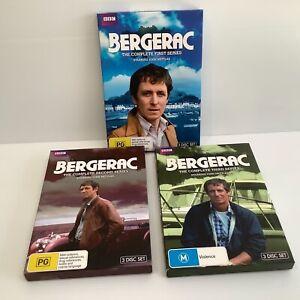 Bergerac dvd series one two and three 1-3 John Nettles BBC