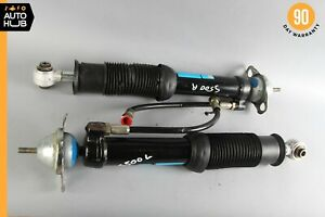 Mercedes W140 S600 CL500 Rear Shock Strut Left & Right Set Self Leveling OEM