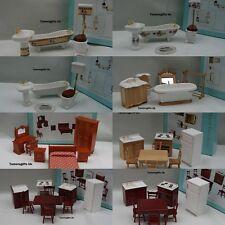 ALBERON DOLLS HOUSE BATHROOM BEDROOM KITCHEN FURNITURE