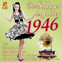 DIE SCHLAGER DES JAHRES 1946 2 CD NEU