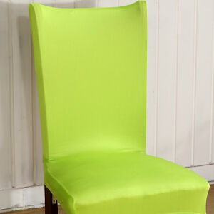 Chair Cover Stretch Spandex Dining Room Wedding Banquet Party Decor Seat Cover