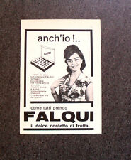M376 - Advertising Pubblicità - 1960 - FALQUI , IL DOLCE CONFETTO DI FRUTTA
