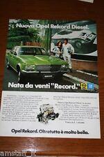 AV19=1972=OPEL REKORD DIESEL=PUBBLICITA'=ADVERTISING=WERBUNG=