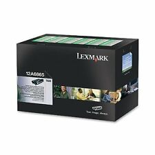 Lexmark 12A6865 optra laser tóner cartridge black 12A6865 T620 T620N T620IN T6