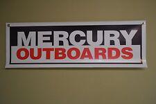 Mercury Marine Outboard Motor Banner Sign Parts Mechanic Shop Marina Logo 10day