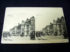 VERY OLD STEREO PPC: WIEN~ OPERA~VIENNA~ANIMATED+ TRAM