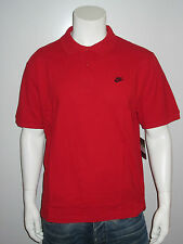 Nike Polo Shirt [Size L] Men's Golf Tennis Polo Shirt Red New & Original Package