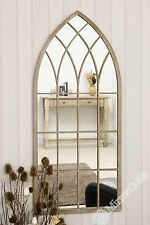 Metal Frame Arched Gothic Decorative Mirrors