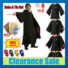 Harry Potter Hogwarts Adult Child Robe Cloak Halloween School COS Costumes