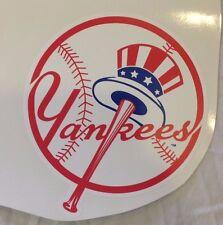 "New FATHEAD 8"" x 9""  New York Yankees Official Team MLB Logo Vinyl Wall Graphics"