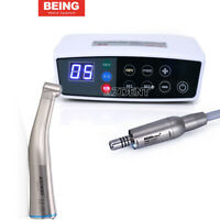 BEING Dental Brushless LED Electric Micro Motor / 1:1 Fiber Optic Contra Angle