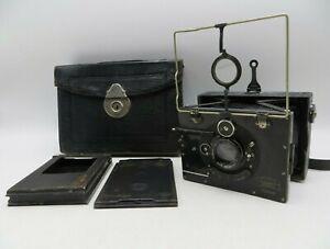Rare Vintage - Zeiss Ikon Ica Bebe 6x9 Folding Camera - Tessar 105mm F4.5 Lens