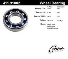 Axle Shaft Bearing-C-TEK Bearings Centric 411.91002E