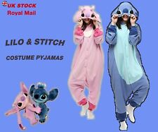 Unisex Adult Animal Pyjamas Costume Lilo and stitch Lovers Kigurumi  Fancy Dress