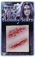 Halloween Horror Zombie Bloody Scar Wounds