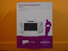 wii U ALL IN ONE CHARGING DOCK For wiiU With Power Supply WHITE BOXED