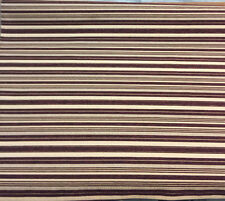 "Julius Stripes Wine Fabric Chenille upholstery 56"" fabric by the yard sofa"